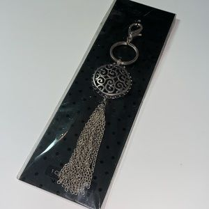 New Grace Adele Tendril Silver Purse Clio On